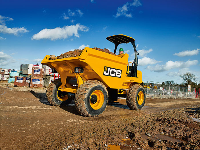 Mather Hire: Hire a JCB Dumper in Glasgow