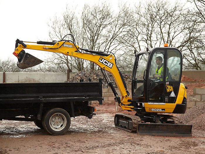 Mather Hire: Hire a JCB Excavator in Glasgow