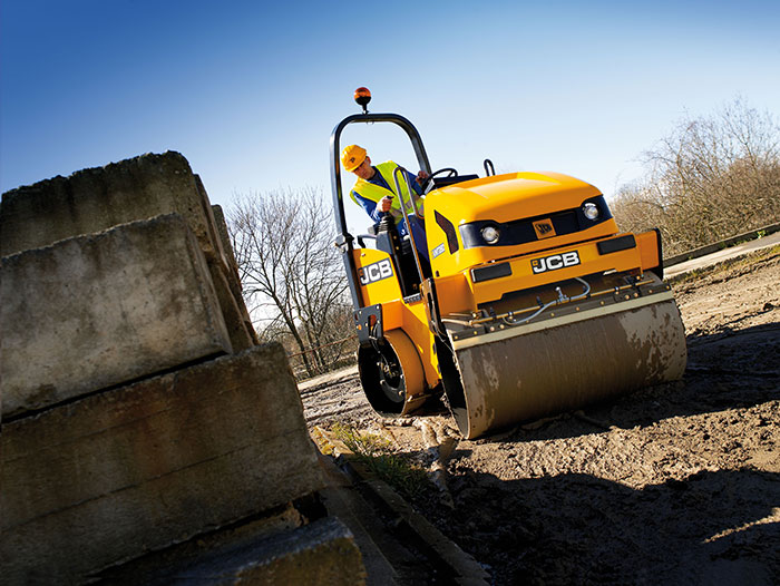 Mather Hire: Hire a JCB Roller in Glasgow